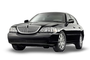 limo airport transportation by lincoln town car