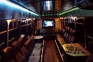 brewery tour party bus