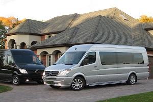 wine tour mercedes sprinter vans